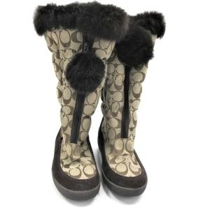 NEW Coach Theona Winter Boots